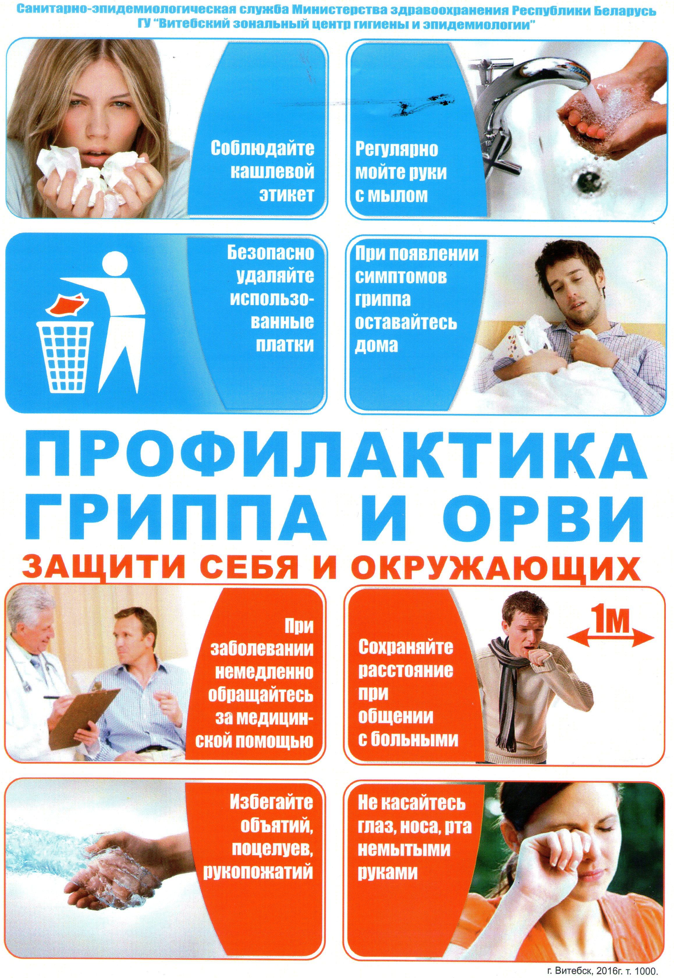 профилактика гриппа фото и картинки вожди